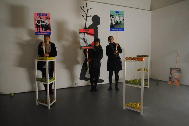 From shadow to reality - Dundee Urban Orchard Jonathan Baxter and Sarah Gittins