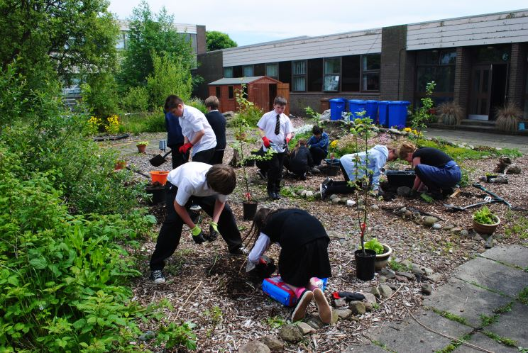 Braeview Academy - Orchard Planting