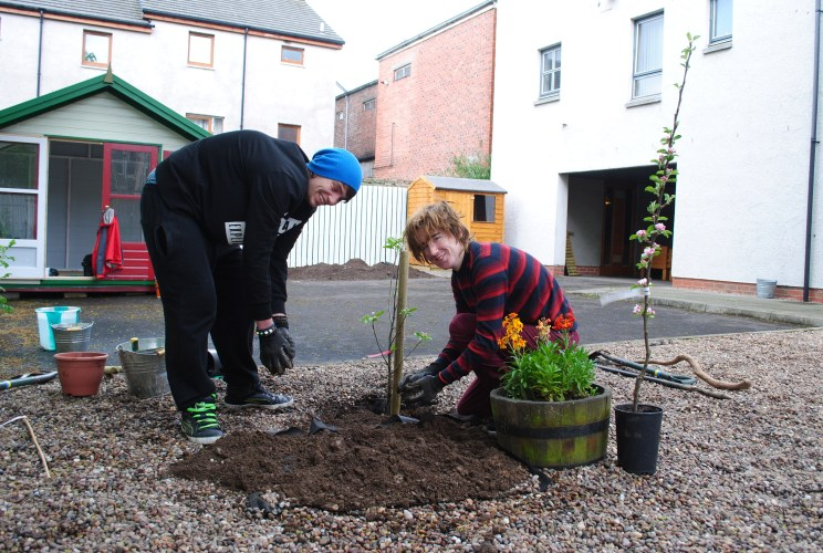 Dundee Urban Orchard - Action for Children
