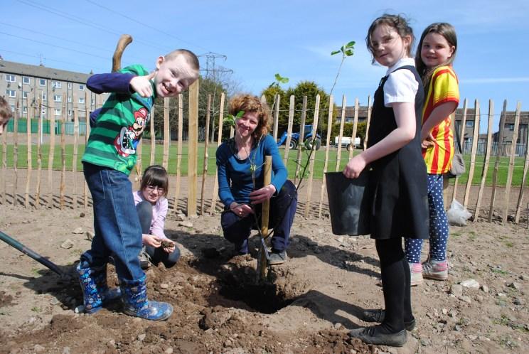 Dundee Urban Orchard Balgarthno Campus