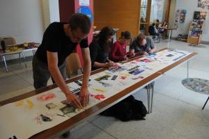 P.N. Dundee Urban Orchard - Community Print workshop